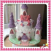 1st attempt at making a Princess Castle