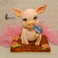 Year of the pig cake Challenge