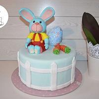 Rabbit Easter Cake