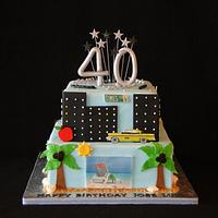 New York/Florida Cake