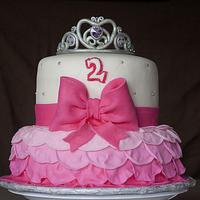 Princess Inspired Cake