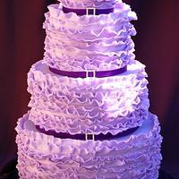 Violet's Violet Ruffle Cake