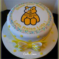 Children in need cake