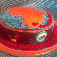 Africa cake by Joy Apollis