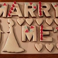 Marry Me Cookies