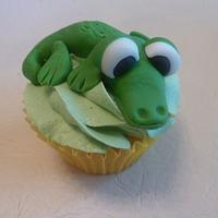 50th Birthday Cupcakes - Steve Irwin Theme