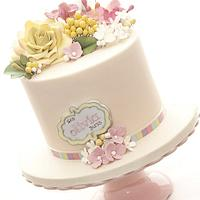 Babyshower Cake by tortacouture