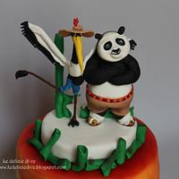 kung fu panda cake by le delizie di ve