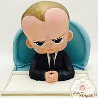 Cakeflix Collab : Boss Baby
