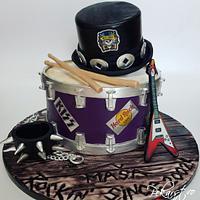 Rock & Roll Cake! 🎶