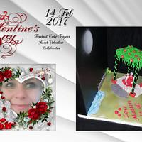 """Love matters to All"" ""Fondant Cake-Topper - Sweet Valentine Collaboration 2017"""