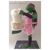 """Rosie"" the cake decorating ninja turtle"