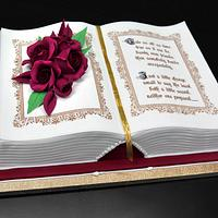 3D Book Cake