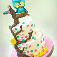 Rhian turned three yrs OWLd by tessatinacakes