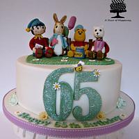Winnie the Pooh, Peter Rabbit, Noddy & Rupert the Bear