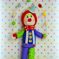 Choo Choo the Clown!