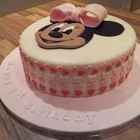 Minnie Mouse by Rachel Nickson