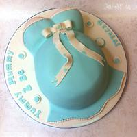 Baby Shower Cake - Blue for a Boy