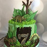 Dino cake