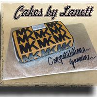 Michael Kors Wallet Cake by lanett