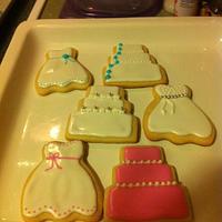 Wedding Shower Cookies by Jen Scott