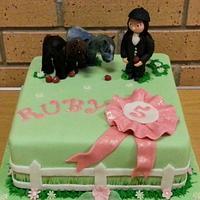 pony birthday cake
