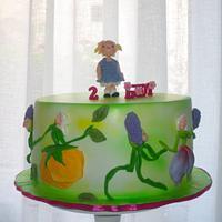 Little ida's flowers cake