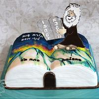 Ten Commandments Cake