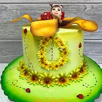 Thumbelina's first birthday