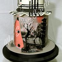 Fashion Themed Cake by Cosette