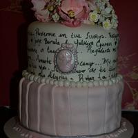 My wedding anniversary cake by kira