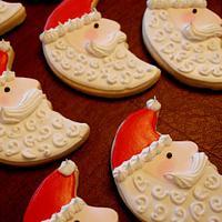 Santa Face Cookies!