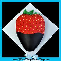 Chocolate covered strawberry cake by Karin Giamella