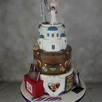 Our Life so far- wedding cake