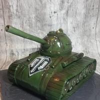 Tank cake..
