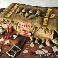 The Monster Book of Monsters Cake