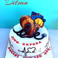 Cardiologist Cake