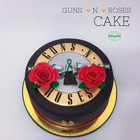 Torta Guns N´ Roses Medellín