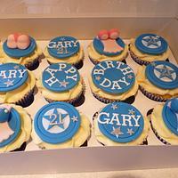 21st Cupcakes.