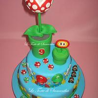 Super Mario Bros Cake by Samantha Camedda