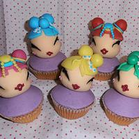 Geishes' cupcakes