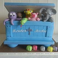 Toy Box,Christening Cake