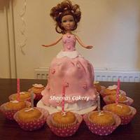 Princess Doll Cake by Sheena Barker