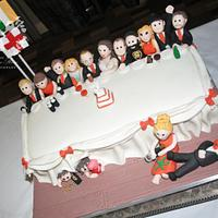 Top Table Wedding Cake