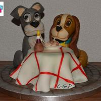 """Modeling """"Lady and the Tramp"""""""