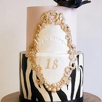 18th Birthday cake.