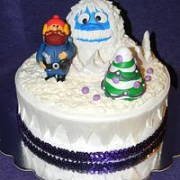 Yukon Cornelius and Bumble cake by Traci