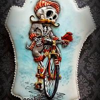 Sugar Skull Collaboration - 2017 - Cycling till I die....