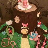 Woodland Fairy Cake by Sue