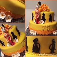 Wajang cake